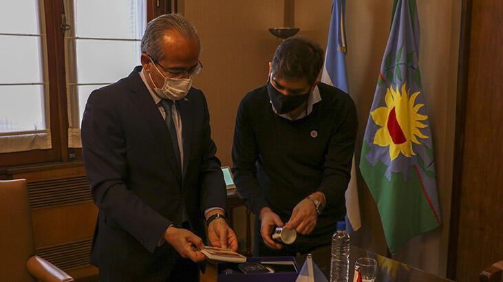 Türkiye'den Arjantin'e corona virüsle mücadelede destek
