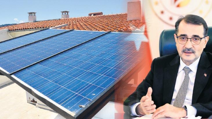 Çatıya cepheye güneş paneli
