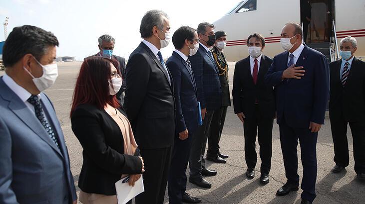 Bakan Çavuşoğlu, Libya'da