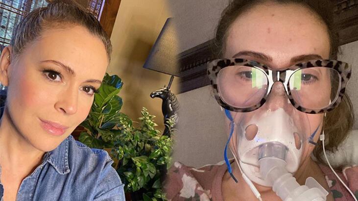 Alyssa Milano corona virüse yakalandığını açıkladı