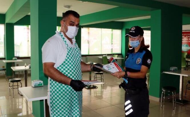 Burdur'da koronavirüs denetimi