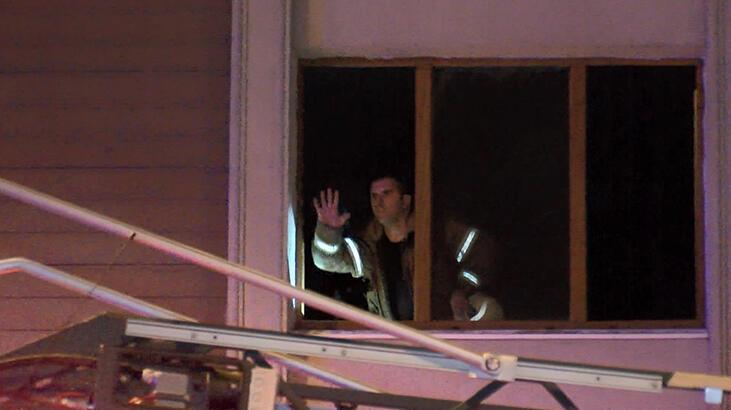 Ataşehir'de yangın! 12 kişi hastaneye kaldırıldı