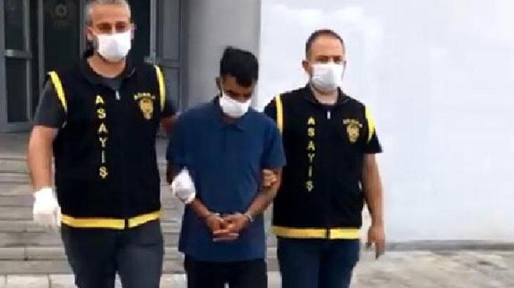 Genç kadının cep telefonunu çalan kapkaççı tutuklandı