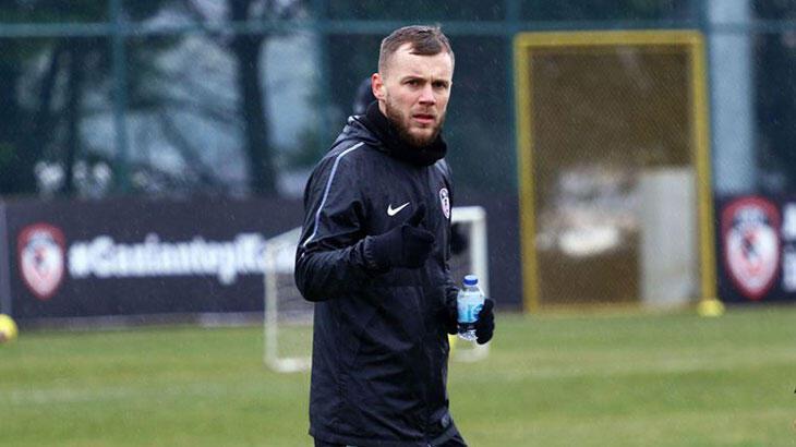 Gaziantep FK'de ikinci yarının yıldızı: Alexandru Maxim