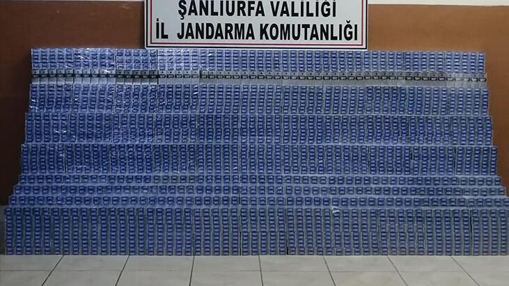 Kamyonda 28 bin paket kaçak sigara ele geçirildi