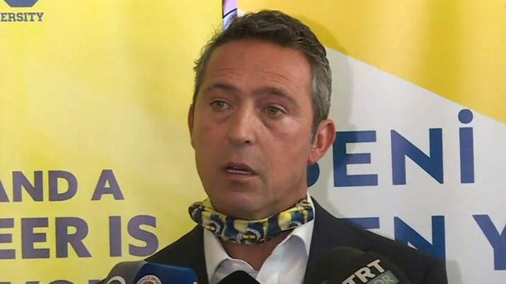 Son dakika haberler - Fenerbahçe Başkanı Ali Koç'tan harcama limiti ve transfer açıklaması