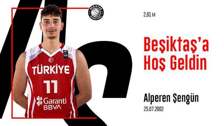 Beşiktaş Basketbol Takımı, Alperen Şengün ile anlaştı