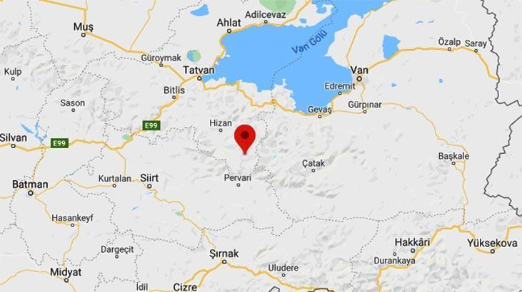 Son dakika haberi: Bitlis'te şiddetli deprem! Büyüklüğü...