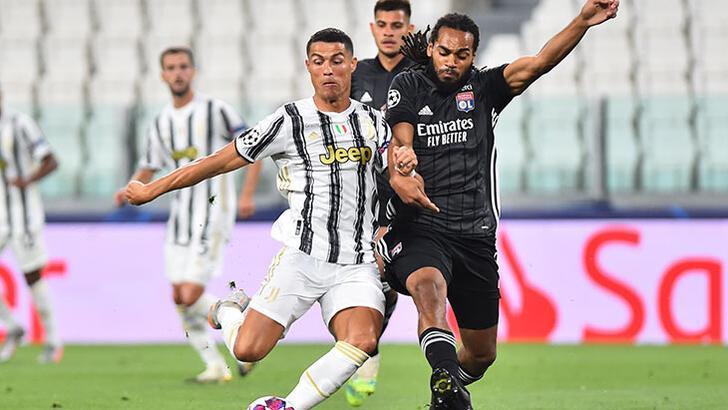 Lyon Şampiyonlar Ligi'nde turladı! Juventus - Lyon: 2-1