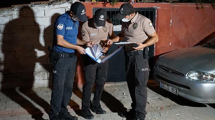Kırıkkale'de, izolasyon kapsamındaki kişiler evlerinde kontrol edildi