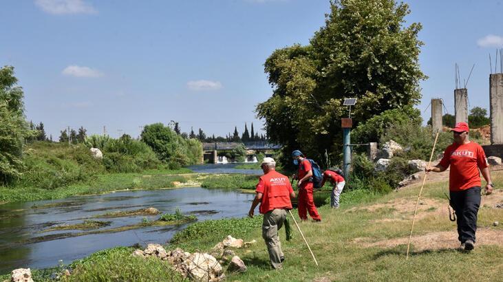 Su kanalında kaybolan Sezgin'i arama çalışmaları sürüyor