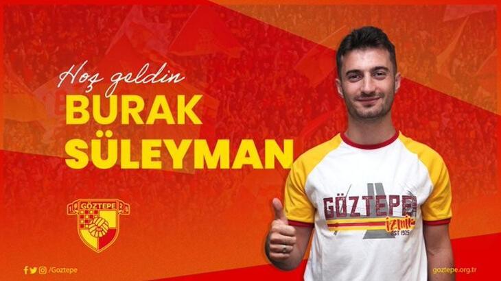 Göztepe, Kocaelispor'dan Burak Süleyman'ı transfer etti
