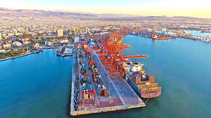 Fuat Oktay'ın açıklamasının ardından gözler Mersin Uluslararası Limanı'na çevrildi