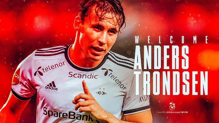 Son dakika   Trabzonspor, Anders Trondsen'i KAP'a bildirdi! 4 yıllık imza...