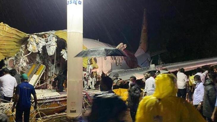 Hindistan'daki uçak kazasında ölü sayısı 18'e yükseldi