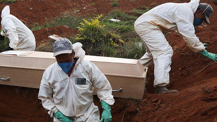 Son dakika... Meksika'da son 24 saatte 695 kişi coronavirüsten hayatını kaybetti!