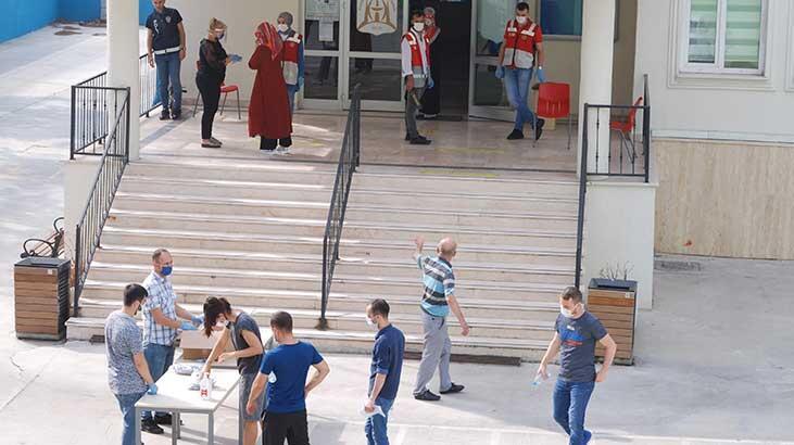 İstanbul'da DGS sınavı başladı