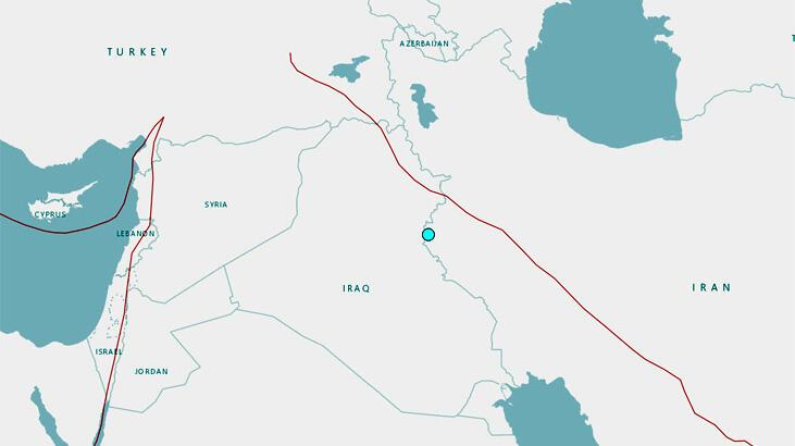 İran'da 5.1 büyüklüğünde deprem