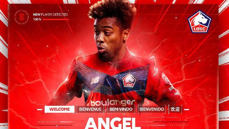 Lille, Angel Gomes ile 5 yıllık sözleşme imzaladı