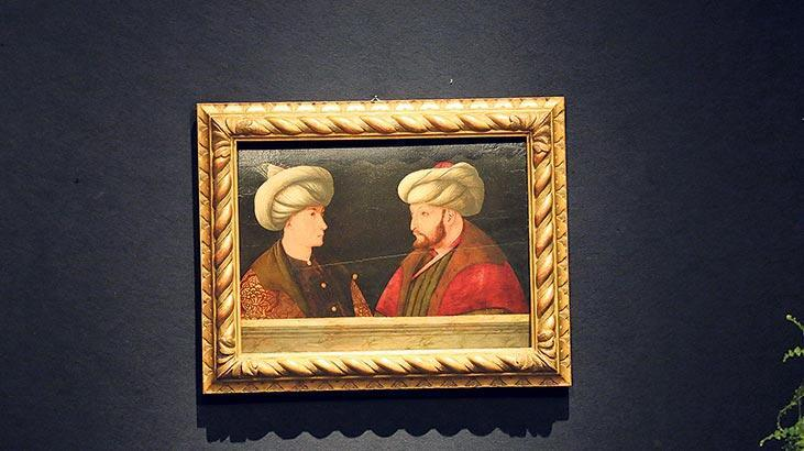 Fatih Sultan Mehmet portresi İstanbul yolunda