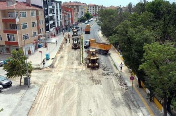 Lüleburgaz Belediyesi'nden alt ve üst yapı çalışmaları