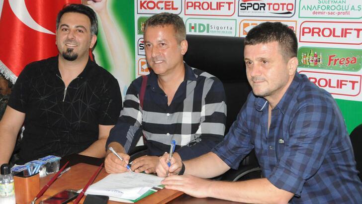 Giresunspor, teknik direktör Hakan Keleş ile anlaştı