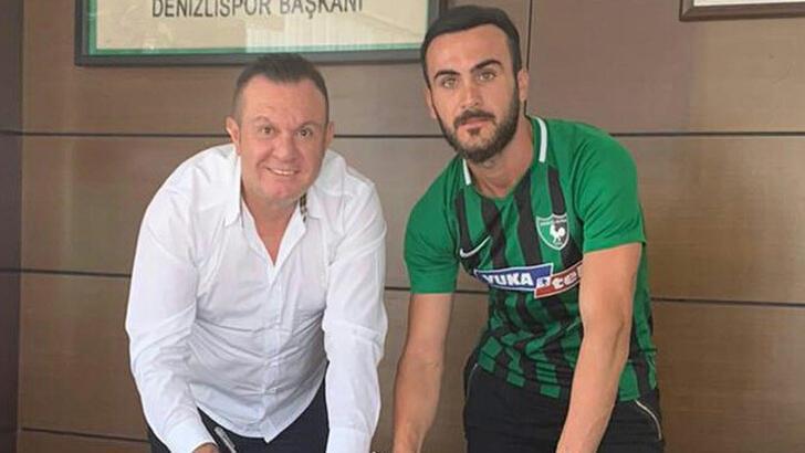 Denizlispor, Oğuz Yılmaz ile 3 yıllık sözleşme imzaladı