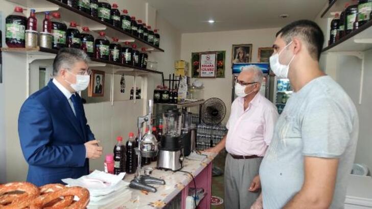Osmaniye'de, koronavirüs tedbirleri denetimi