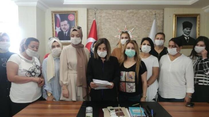Osmaniye'de AK Parti Kadın Kolları'ndan Dilipak'a tepki