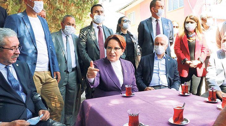 İYİ Parti lideri Akşener: Yola çıktığımızı  yolda bırakmadık