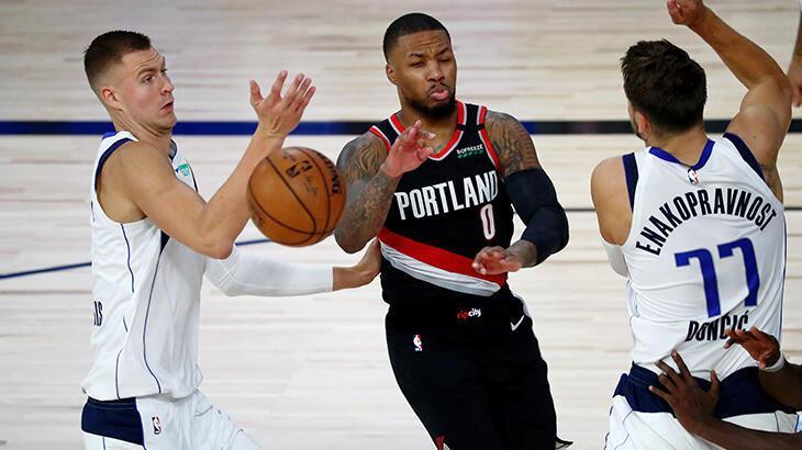 NBA'de Portland Trail Blazers, Lillard'ın üstün performansıyla kazandı