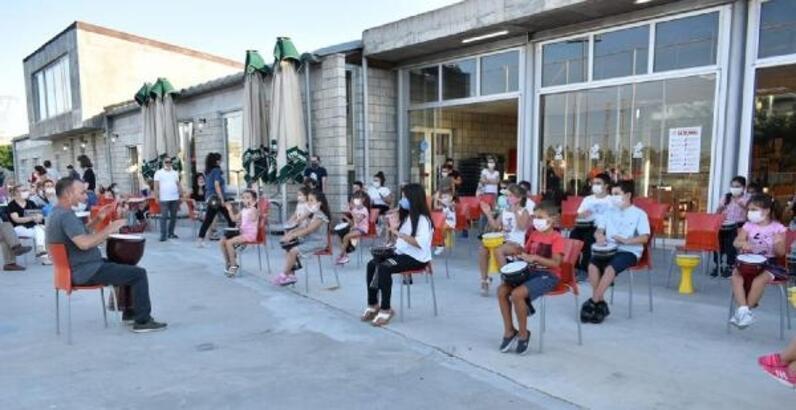 Lüleburgazlı çocuklara, 'ritim' etkinliği