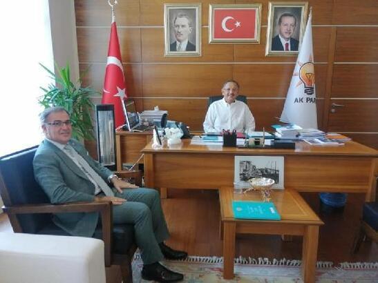 AK Parti'li Özhaseki: Hacılar-Erciyes karayolu 30 metre genişletilecek