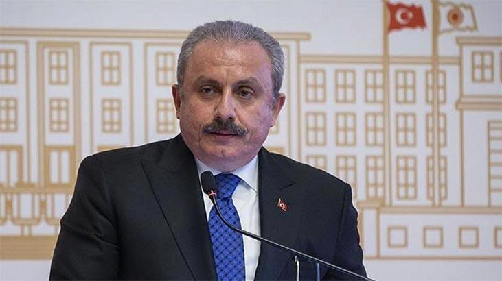 """TBMM Başkanı Şentop'tan """"Doğu Akdeniz"""" tepkisi"""
