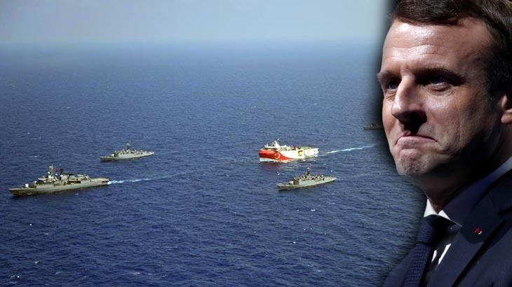 Macron'dan 'Doğu Akdeniz' için skandal sözler: Türkiye faaliyetlerini durdursun