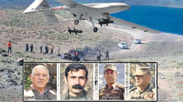 Son dakika! SİHA'lardan PKK'ya nokta operasyon