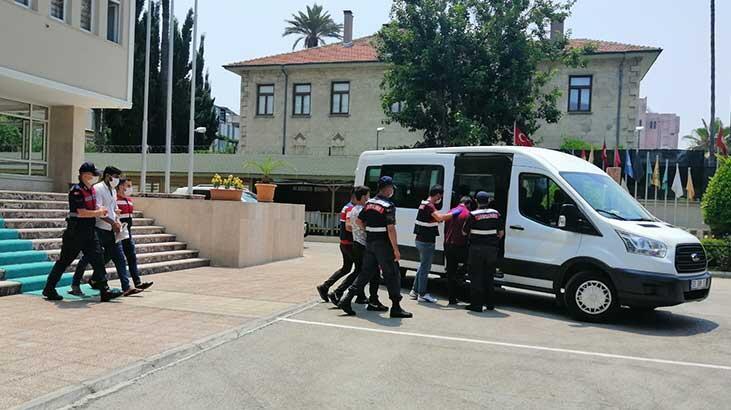 Mersin'de terör örgütü PKK'ya yönelik operasyonda 4 kişi yakalandı