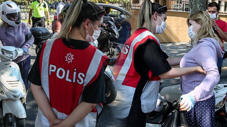 İstanbul genelinde motosikletlilere yönelik denetim