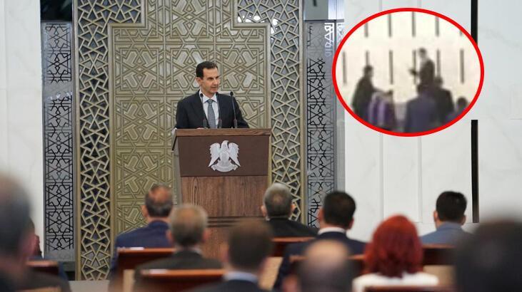 Esad mecliste konuşurken rahatsızlandı
