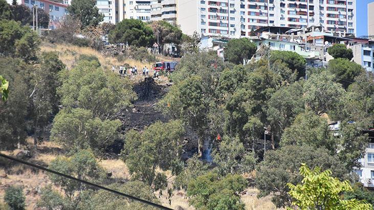 İzmir'de askeri alanda ikinci yangın