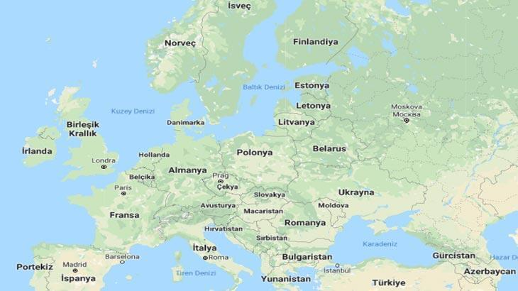 Avrupa Haritası (Fiziki, Siyasi, Dilsiz): Avrupa Kıtasında Olan Ülkeler, Akarsular, Göller Nelerdir?