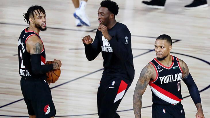 """NBA'de """"play-in""""e kalan takımlar belli oldu"""