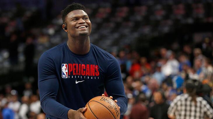 NBA'in yeni yıldızı Zion Williamson, LeBron James'in tahtına aday