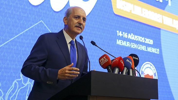 """AK Parti Genel Başkanvekili Kurtulmuş """"Aile Kongresi""""nde konuştu:"""