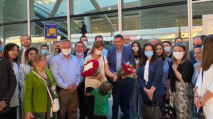 Türkiye'nin New York Başkonsolosluğuna atanan Reyhan Özgür görev yerine ulaştı