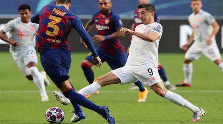 Barcelona karıştı! Bayern Münih Barcelona maç özeti ve golleri! Tam 10 gol...