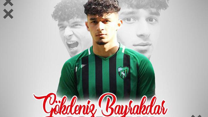 Antalyaspor, genç forvet Gökdeniz Bayrakdar'la sözleşme imzaladı