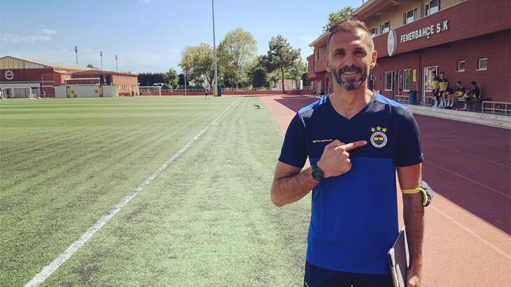 Ekrem Ekşioğlu, Fenerbahçe'de göreve başladı