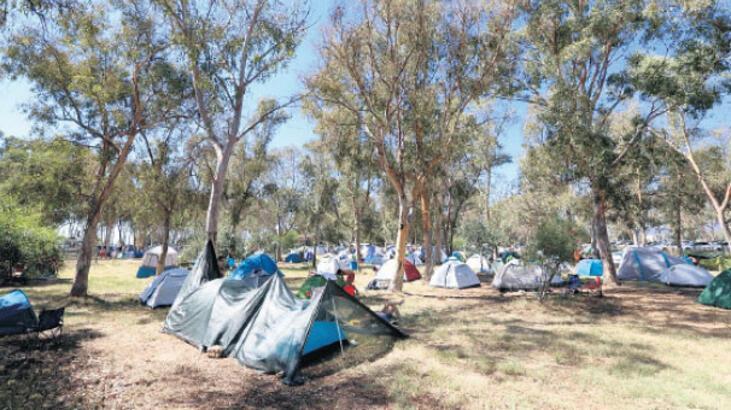 Genç kampçıların  gözdesi Pamucak