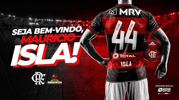 Flamengo, Mauricio Isla'yı açıkladı!